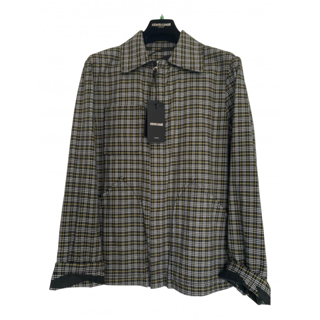 Roberto Cavalli \N Wool jacket  for Men 48 FR