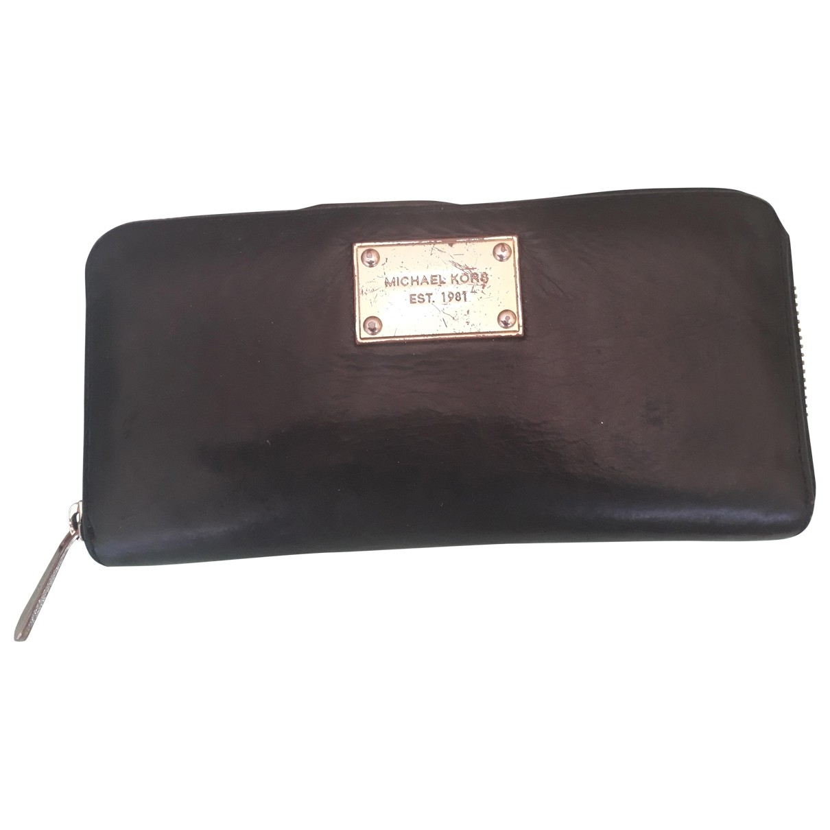 Michael Kors \N Black Leather wallet for Women \N