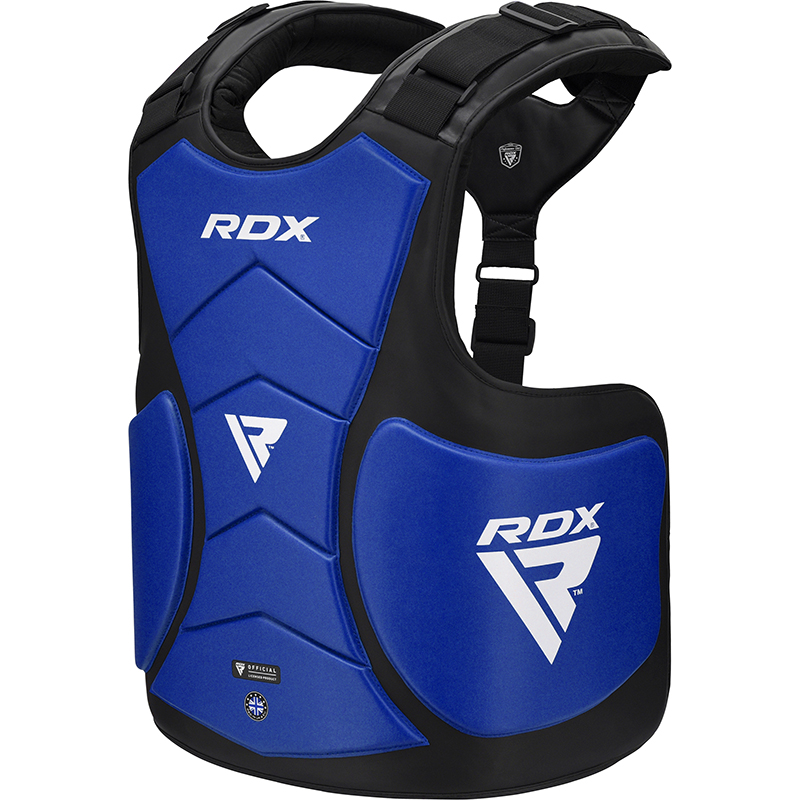 RDX T5 Protecteur De Corps De Coach Bleu Cuir PU