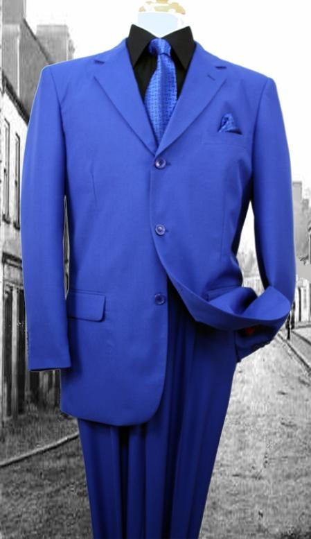 Super s GRoyal Solid Color Suit