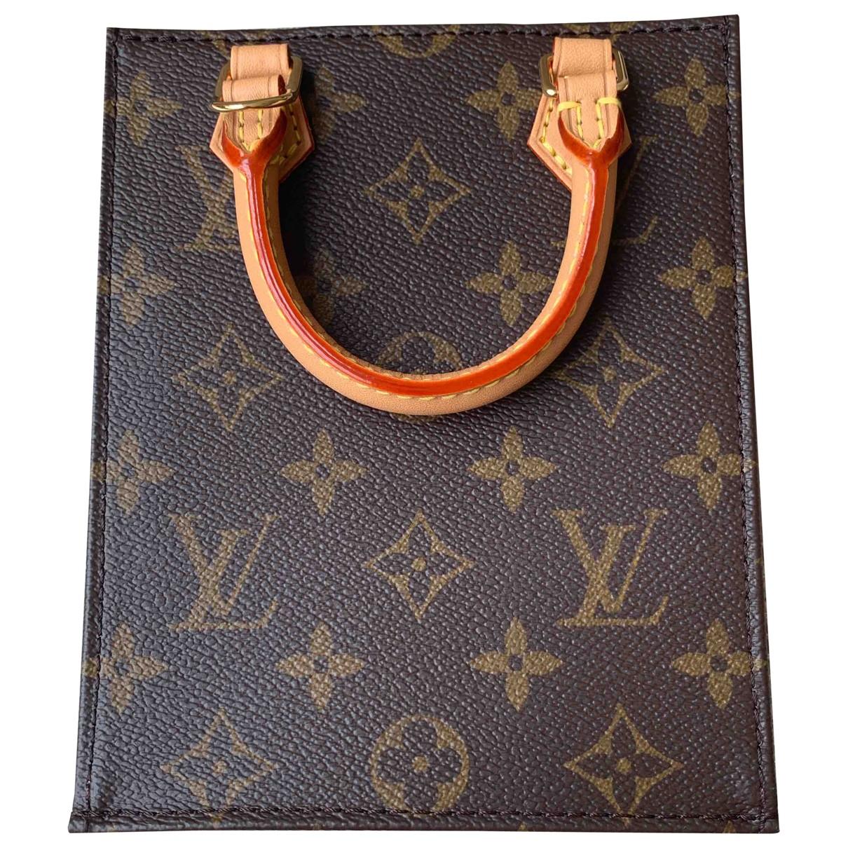 Bandolera Plat de Lona Louis Vuitton