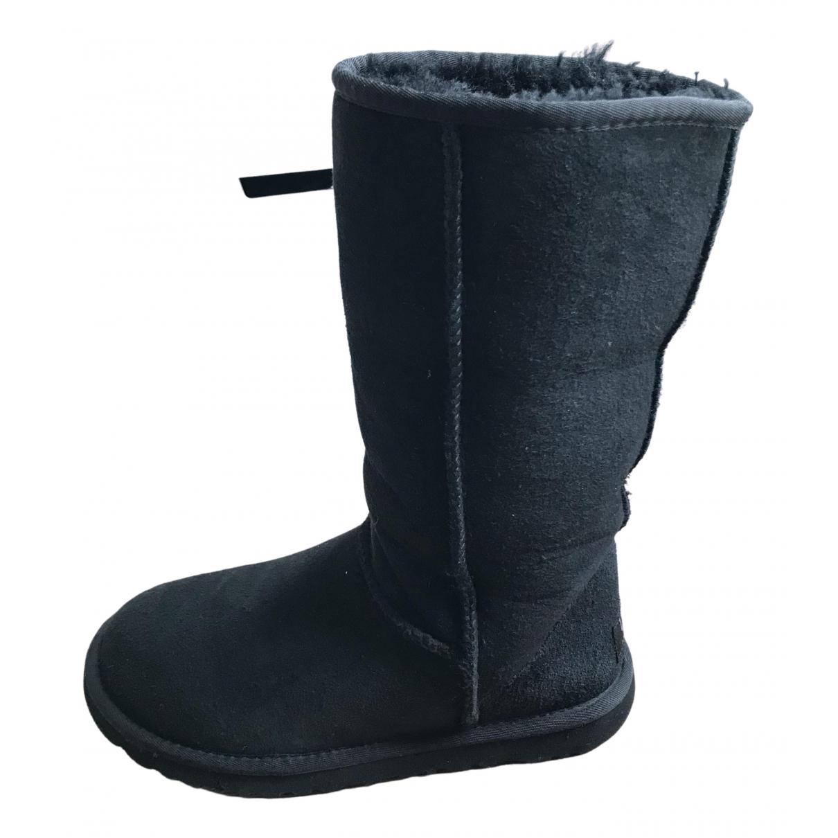 Ugg \N Stiefel in  Schwarz Schaf
