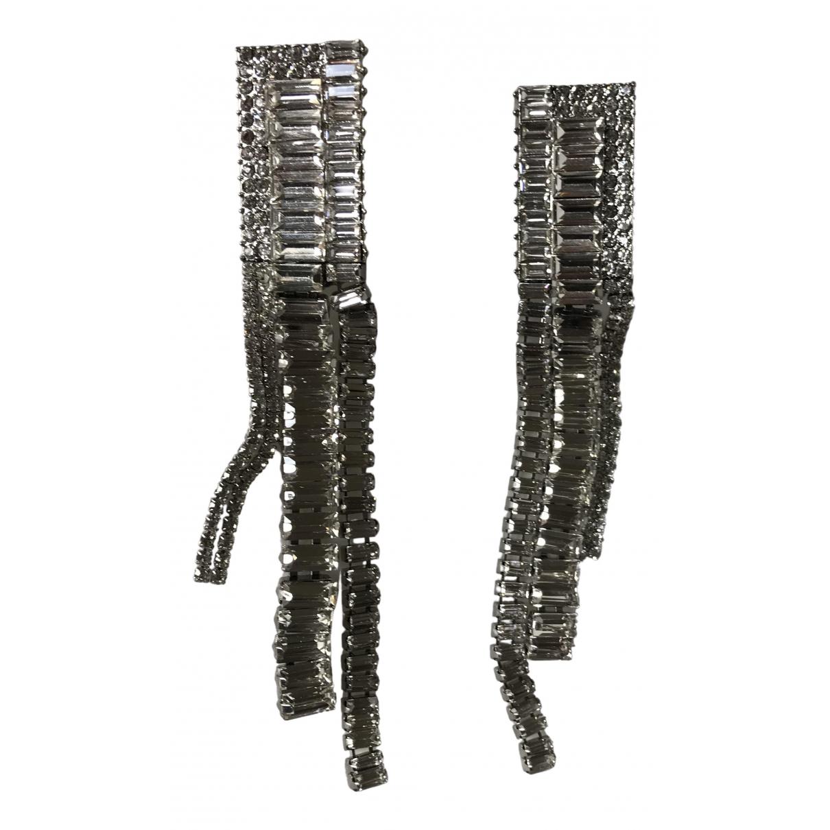 Zara \N OhrRing in  Silber Metall