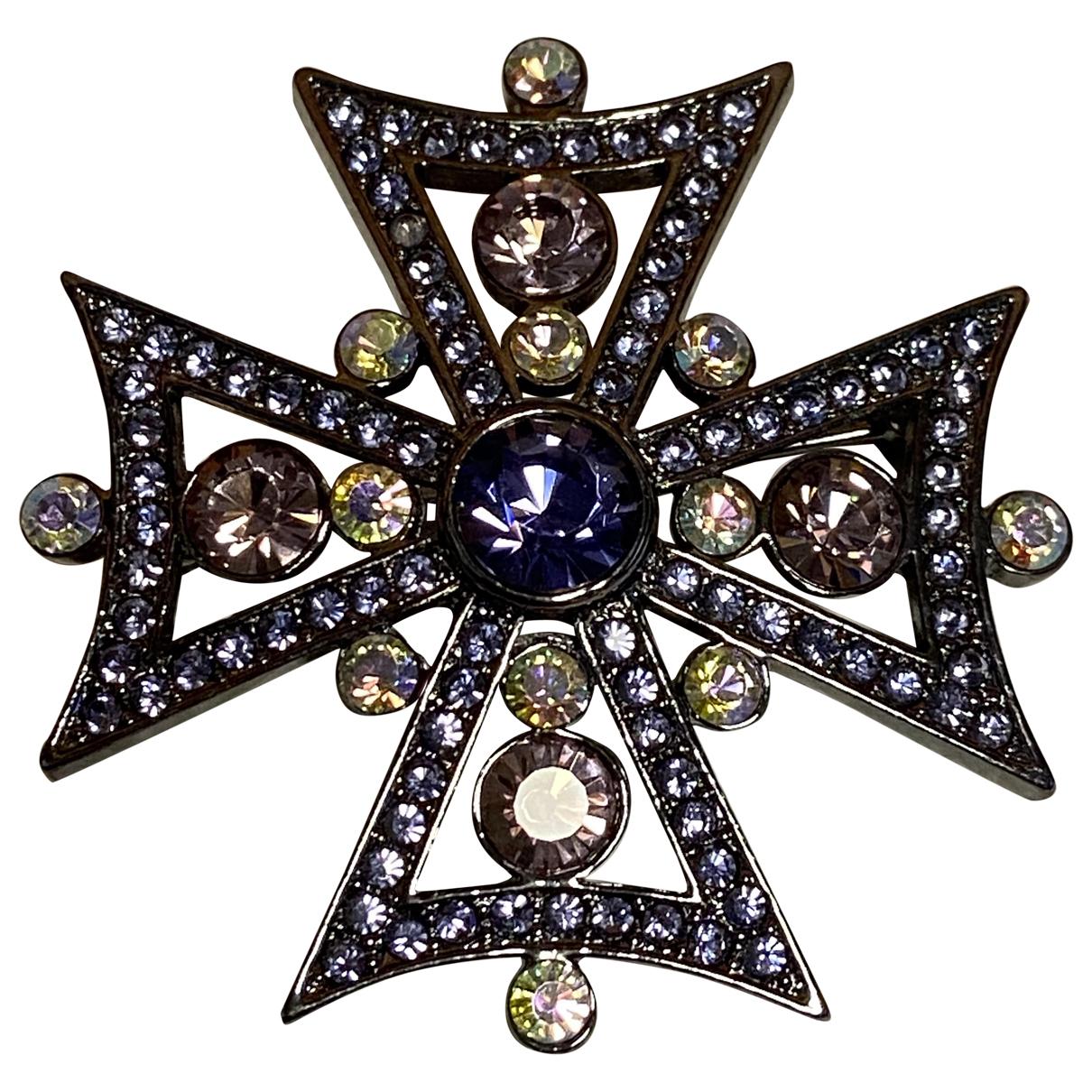 Givenchy - Broche   pour femme en metal - violet