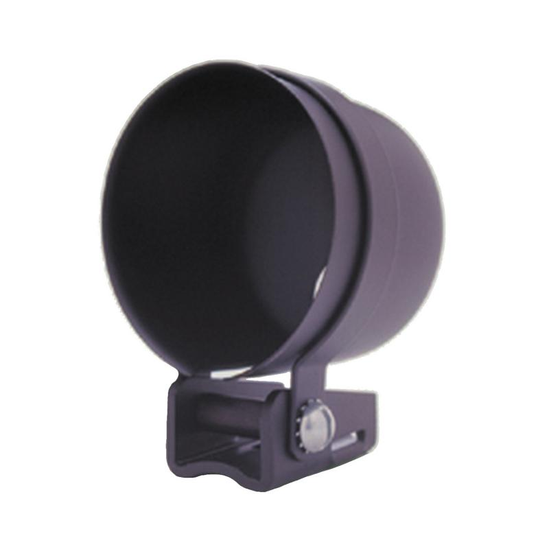 AutoMeter GAUGE MOUNT; 2 5/8in.; PEDESTAL W/BLACK CUP; FOR MECH. GAUGE