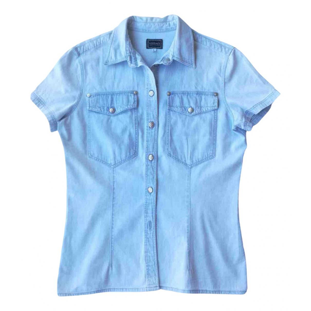 Versace Jeans N Blue Denim - Jeans  top for Women L International