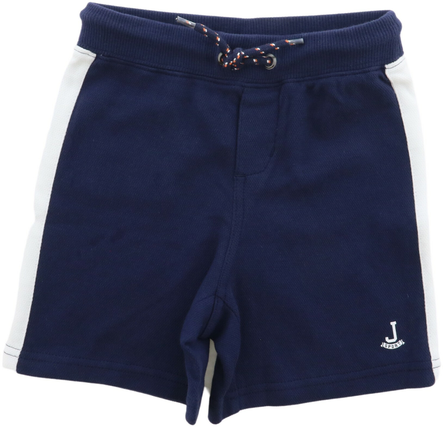 Janie And Jack Boy's Navy Knit Short - 18-24 Months