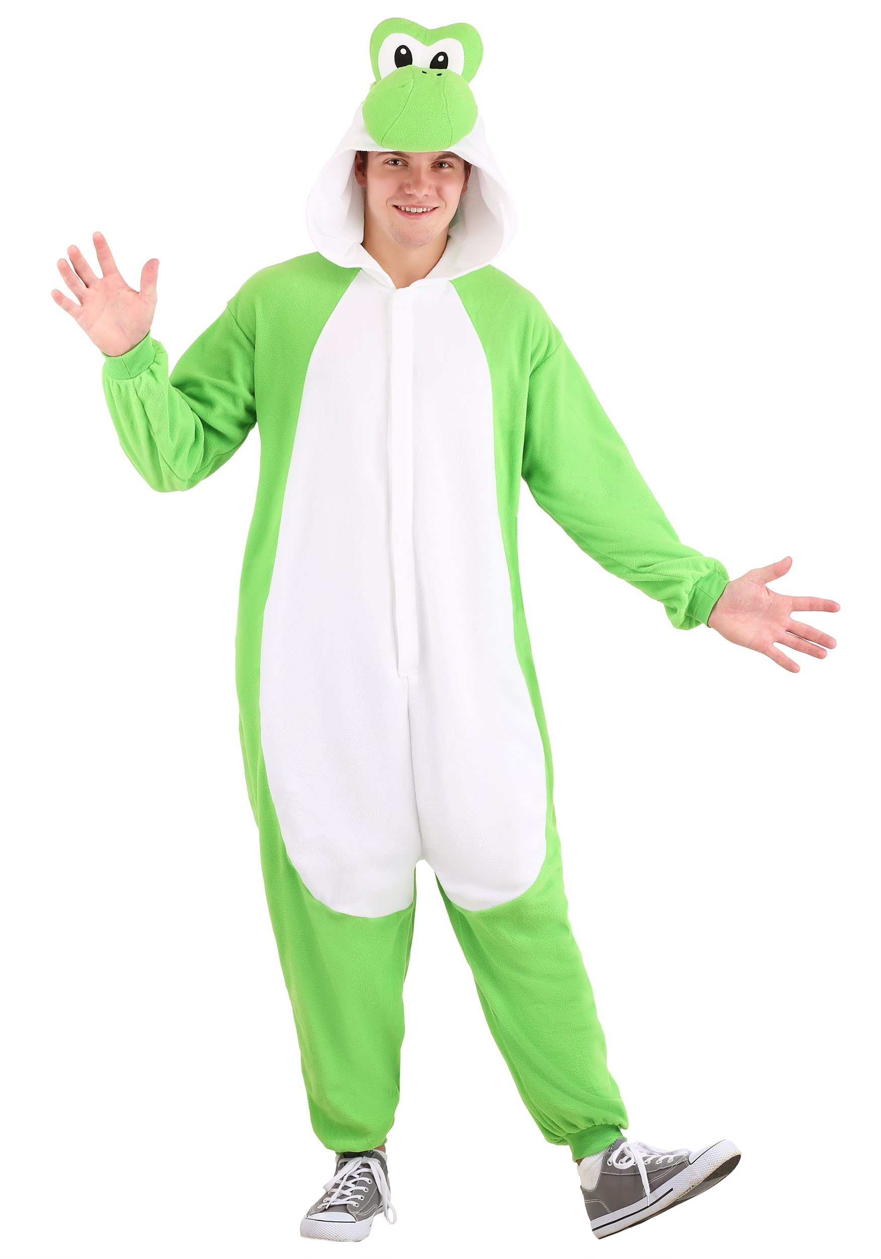 Super Mario Brothers Yoshi Kigurumi for Adults