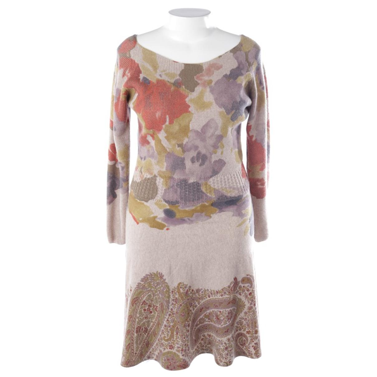 Etro - Robe   pour femme en cachemire - multicolore