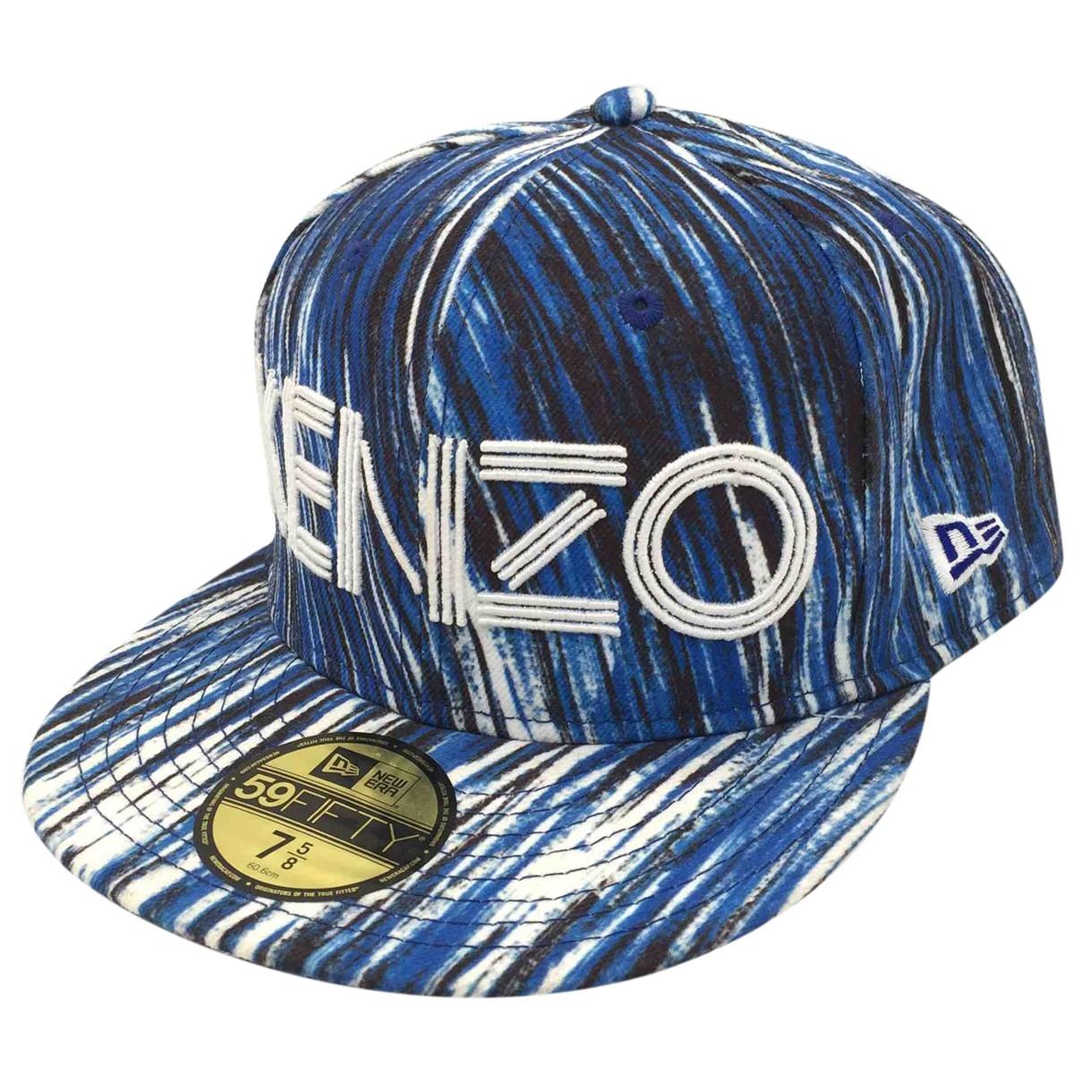 Kenzo - Chapeau & Bonnets   pour homme - bleu