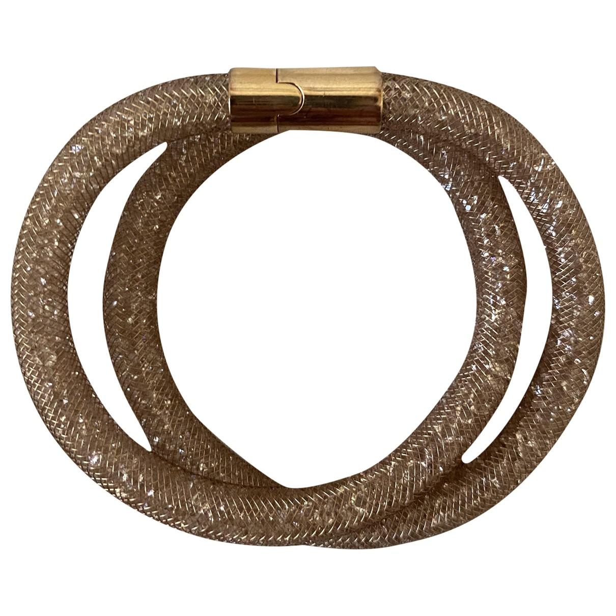 Swarovski - Bracelet Stardust pour femme en cristal - dore