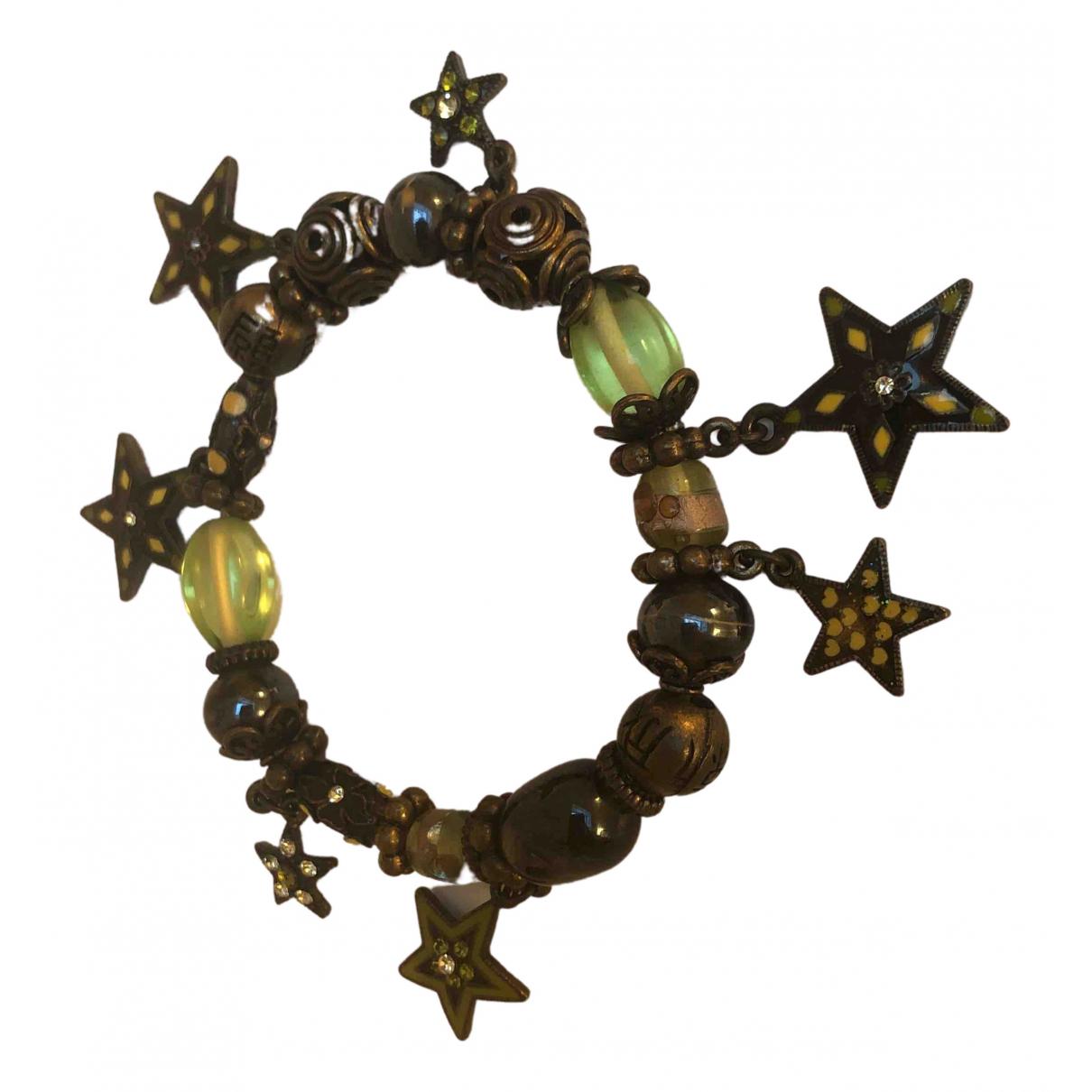 - Bracelet Motifs Etoiles pour femme en metal - anthracite