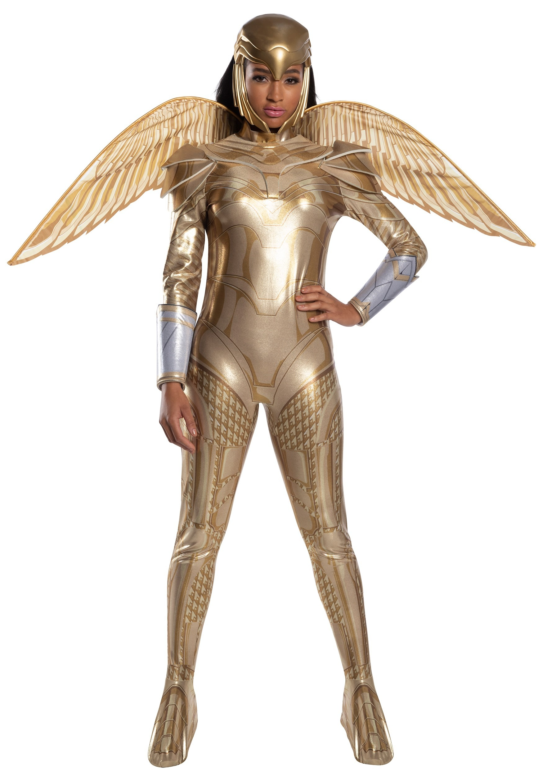 Womens Wonder Woman Gold Armor Deluxe Costume