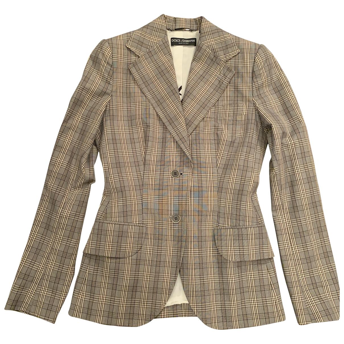 Dolce & Gabbana - Veste   pour femme en coton
