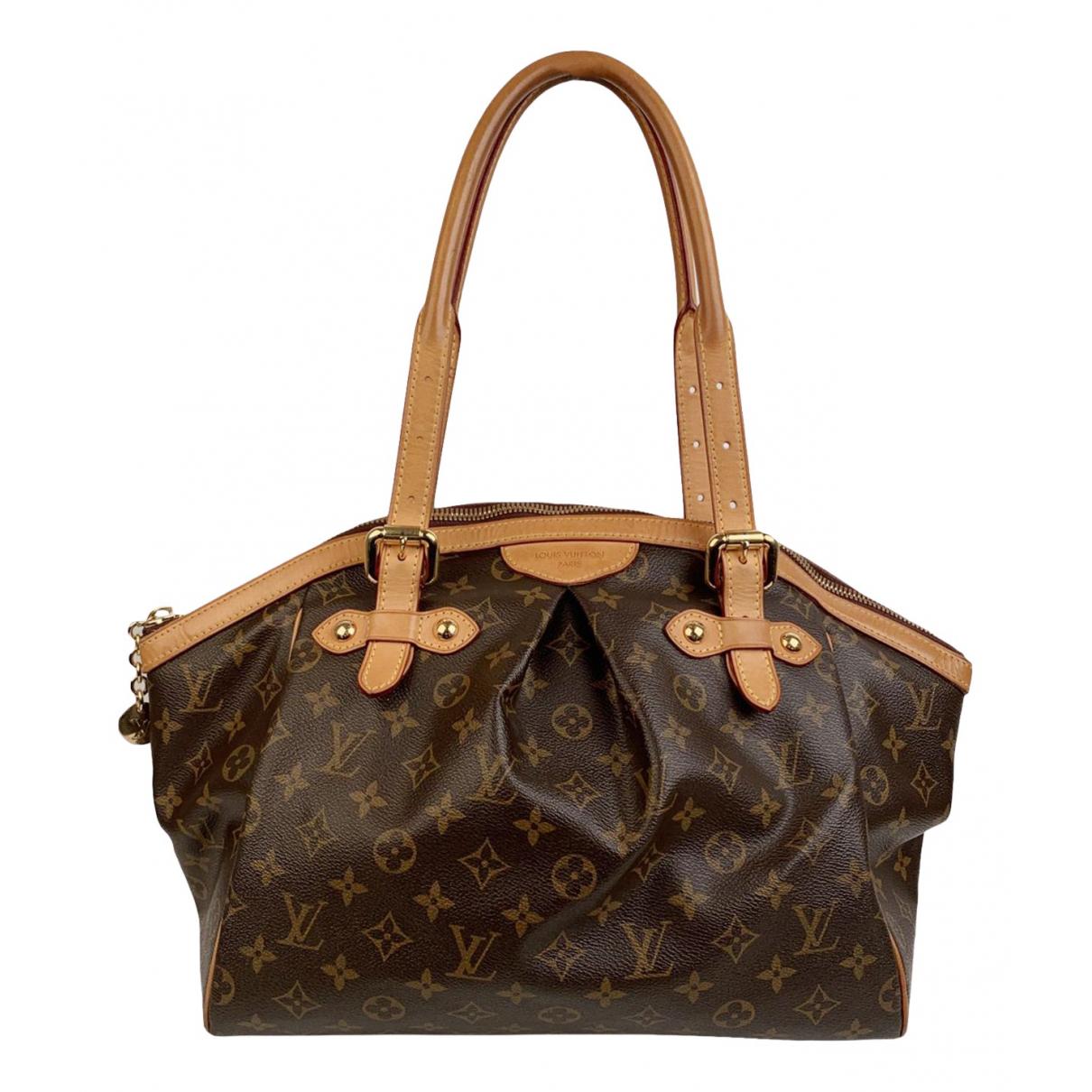 Louis Vuitton - Sac a main Tivoli pour femme en toile - marron