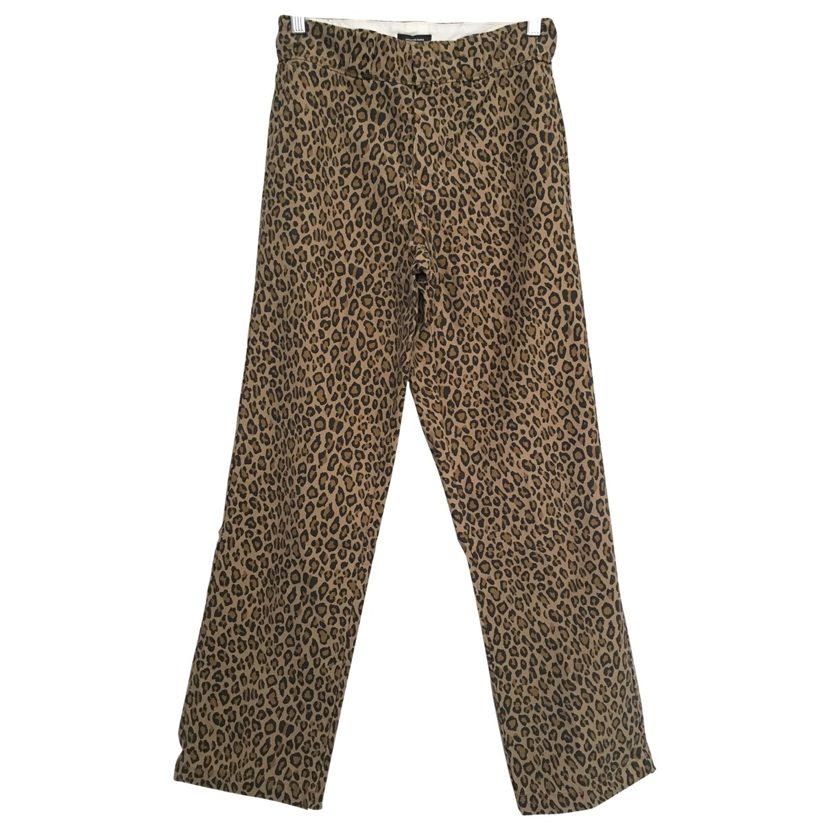 R13 \N Brown Cotton Trousers for Women One Size International
