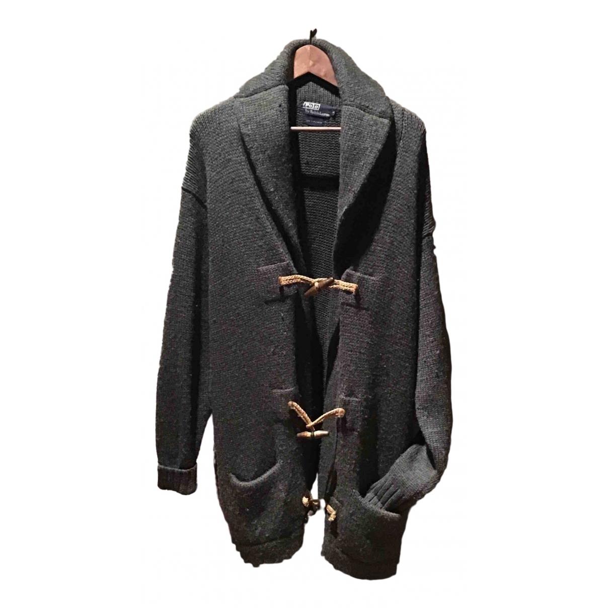 Polo Ralph Lauren - Pull   pour femme en laine - gris
