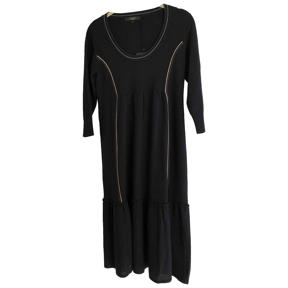 Max Mara Weekend - Robe   pour femme en laine - marine
