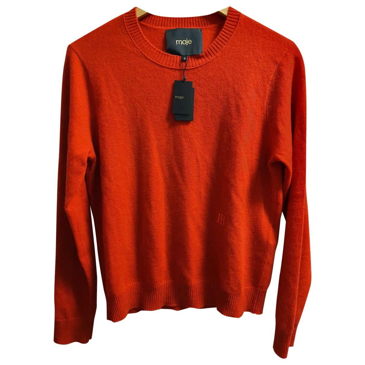 Maje Fall Winter 2019 Red Cashmere Knitwear for Women 2 0-5