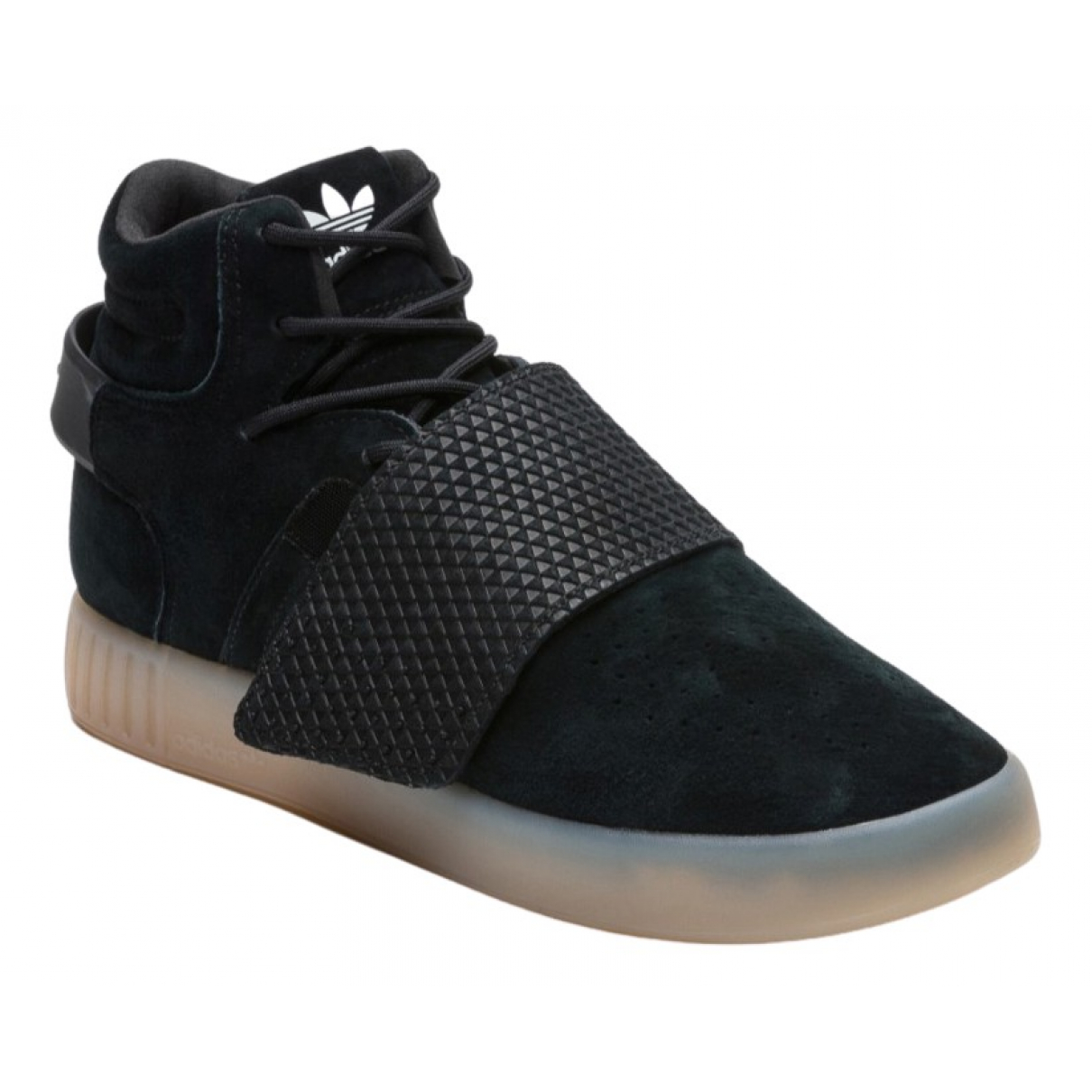 Adidas Tubular Sneakers in  Schwarz Leder