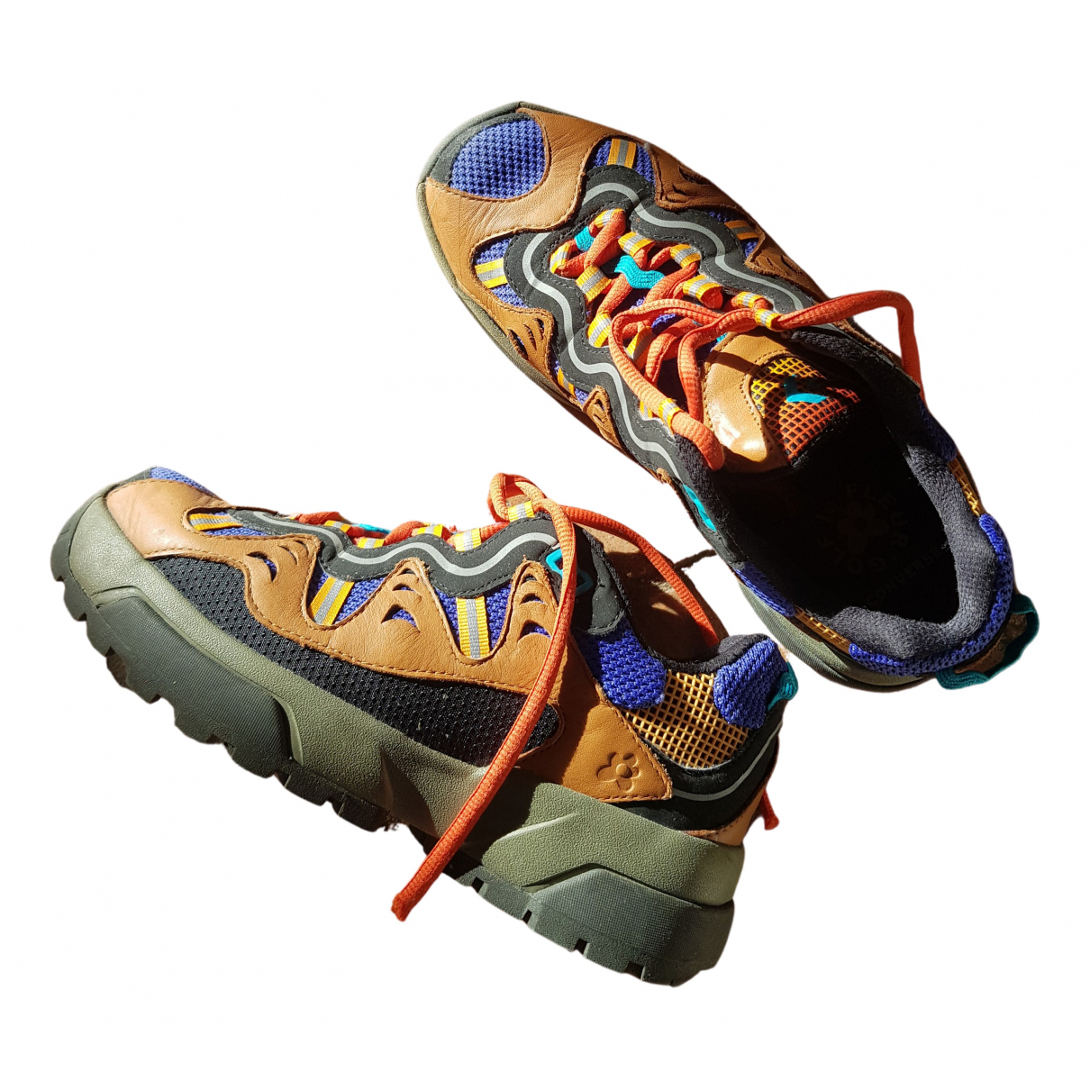 Converse \N Sneakers in  Braun Leder