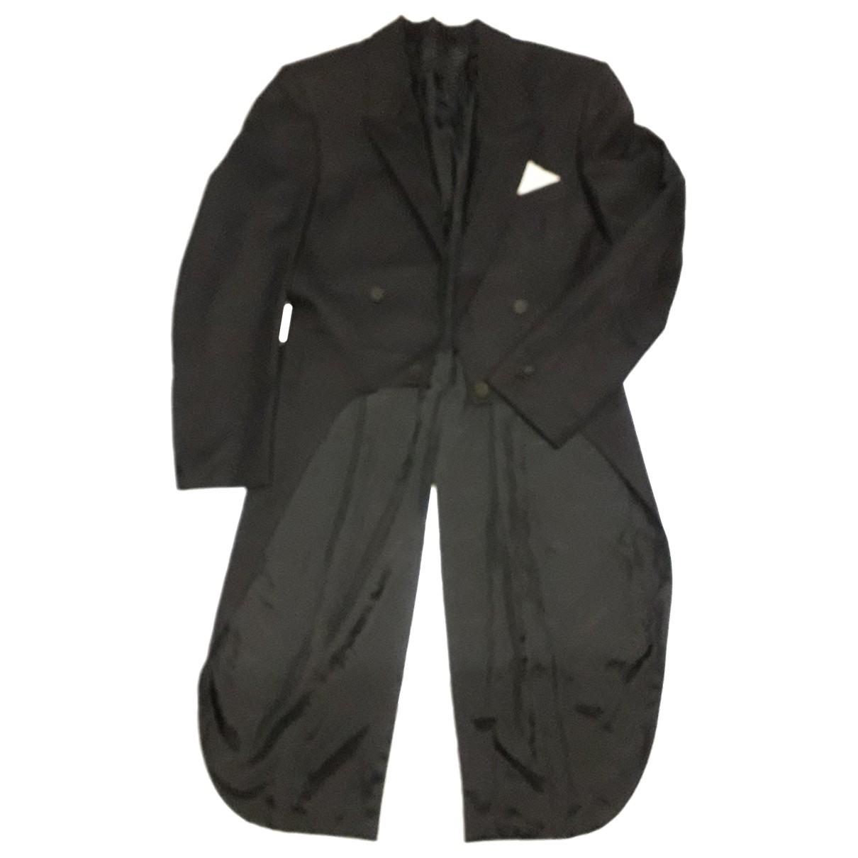 Non Signé / Unsigned N Black jacket  for Men 48 FR