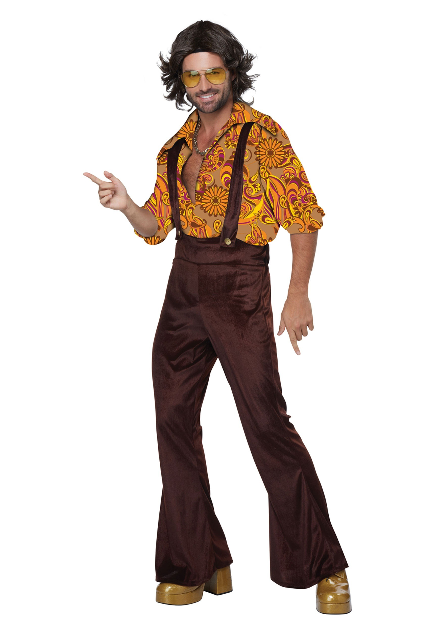 Men's Jive Talkin Disco Dude Costume