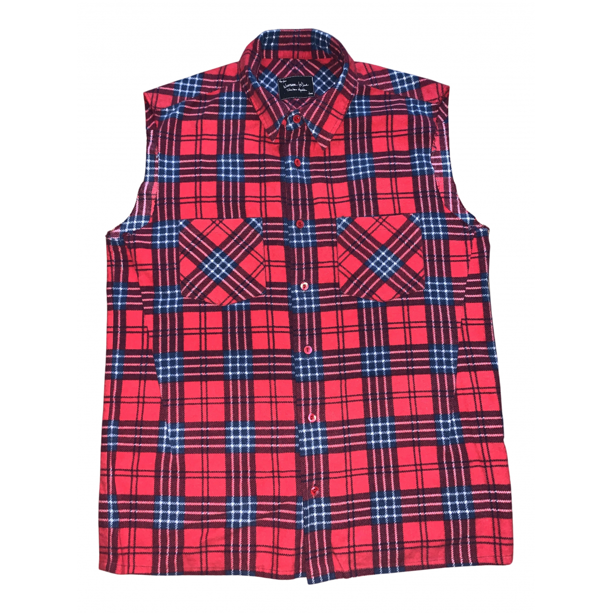 Number Nine - Takahiro Miyashita - Chemises   pour homme en coton - rouge