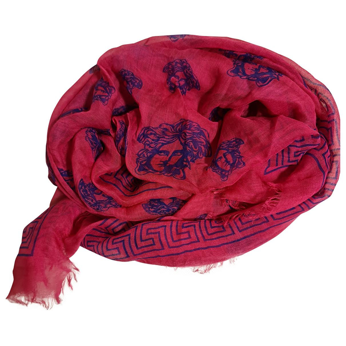 Versace \N Schal in  Rosa Seide