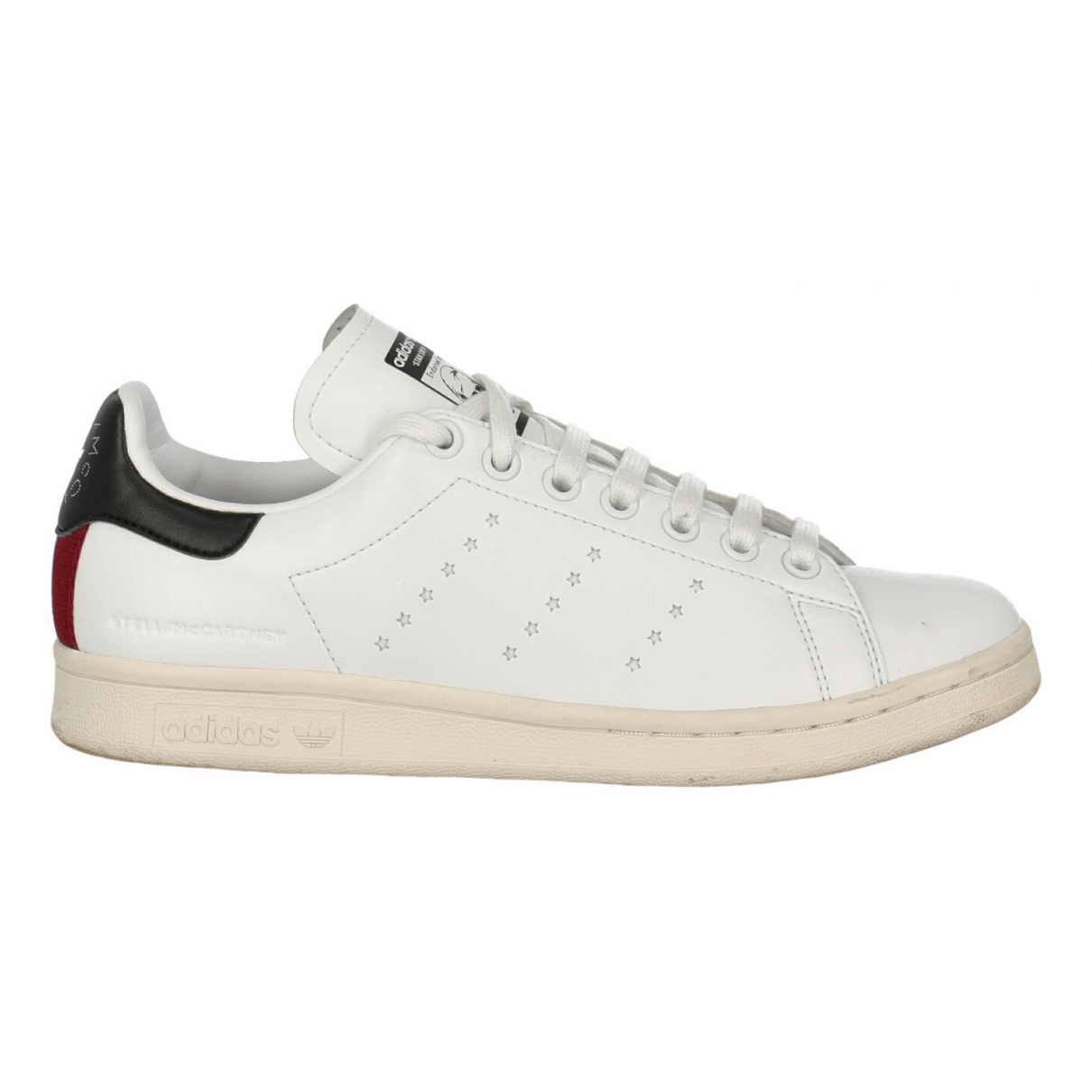 Stella Mccartney Pour Adidas N White Fur Trainers for Women 38 IT