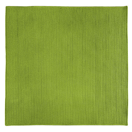 Colonial Mills Nantucket Reversible Braided Indoor/Outdoor Square Rug, One Size , Green