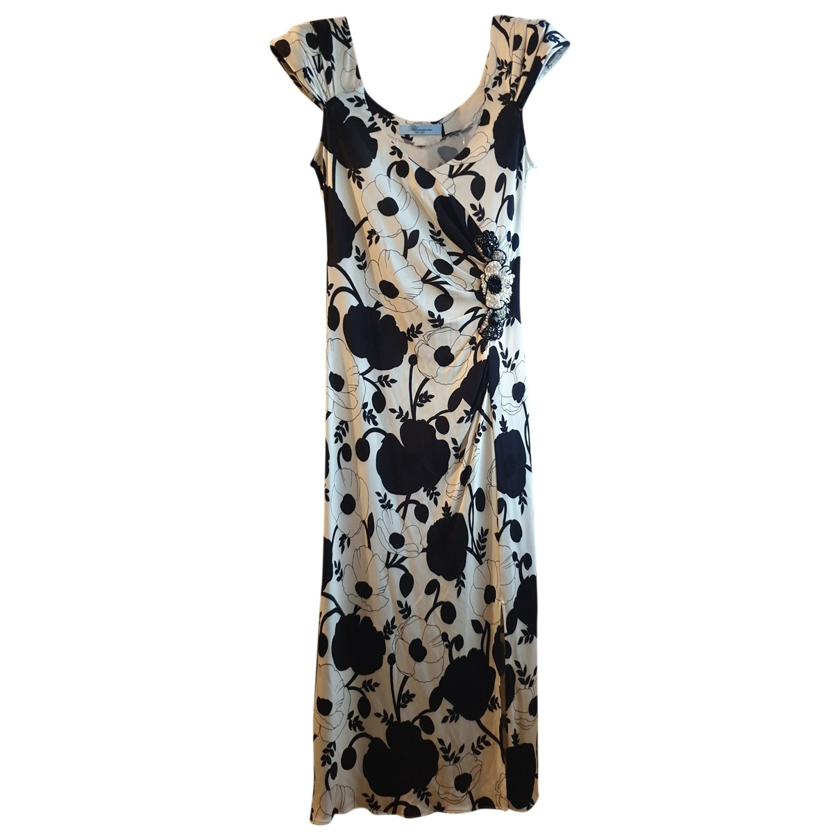 Blumarine - Robe   pour femme - blanc