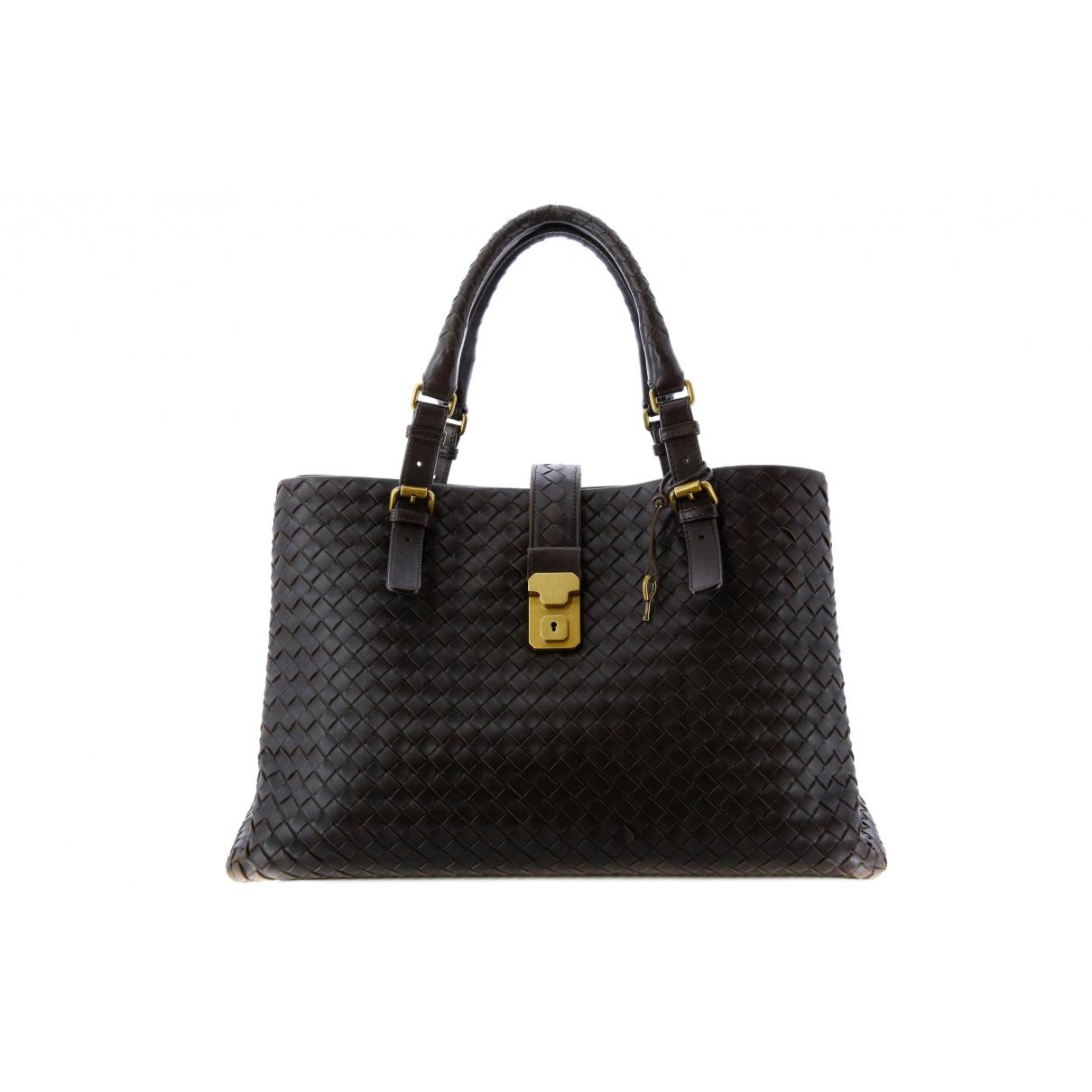 Bottega Veneta Roma Brown Leather handbag for Women \N