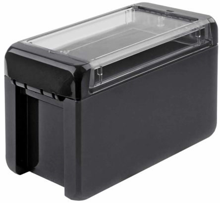 Bopla Bocube, Graphite Grey Polycarbonate Enclosure, IP66, IP68, Flanged, 151 x 80 x 90mm