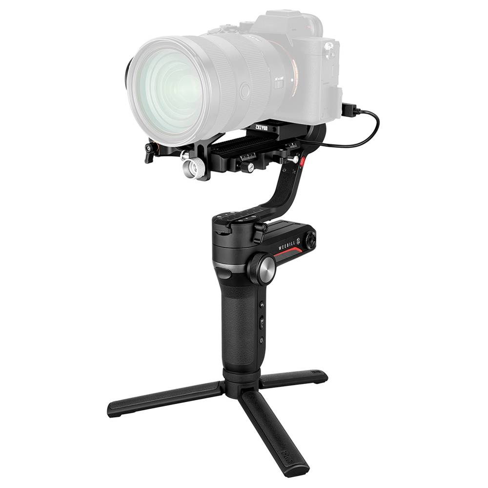 Zhiyun WEEBILL S Tiny Giant DSLR Mirrorless Camera 3axis Handheld Stabilizer Gimbal - Zoom Focus Pro Version