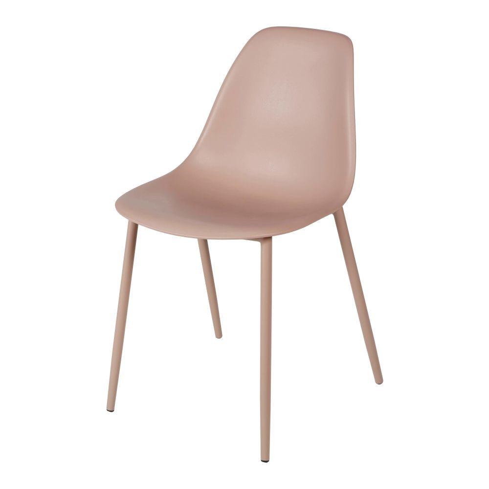 Kinderstuhl im skandinavischen Stil, rosa Clyde