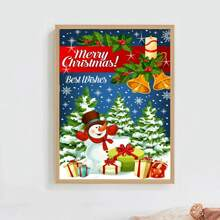 Christmas Pattern DIY Diamond Painting Without Frame