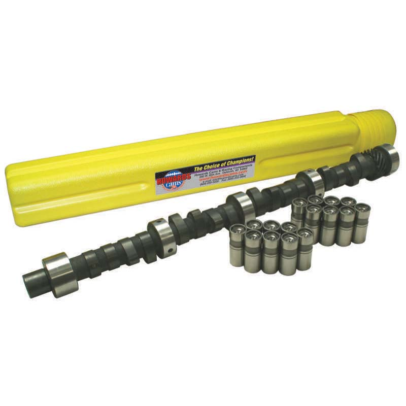 Hydraulic Flat Tappet Camshaft & Lifter Kit; 1955 - 1981 Pontiac 265-455 2000 to 6000 Howards Cams CL410991-10 CL410991-10
