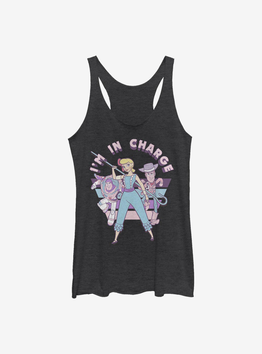 Disney Pixar Toy Story 4 Im In Charge Bo Womens Tank Top
