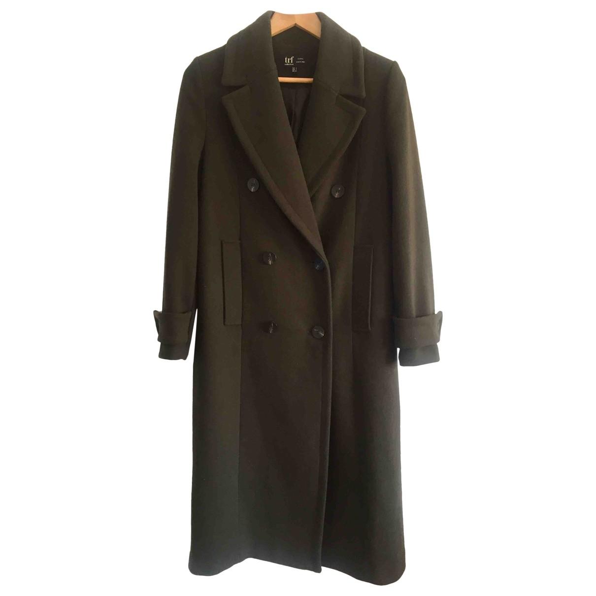 Zara \N Green Wool coat for Women S International