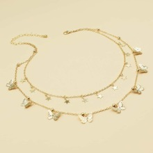 Star Tassel Layered Necklace