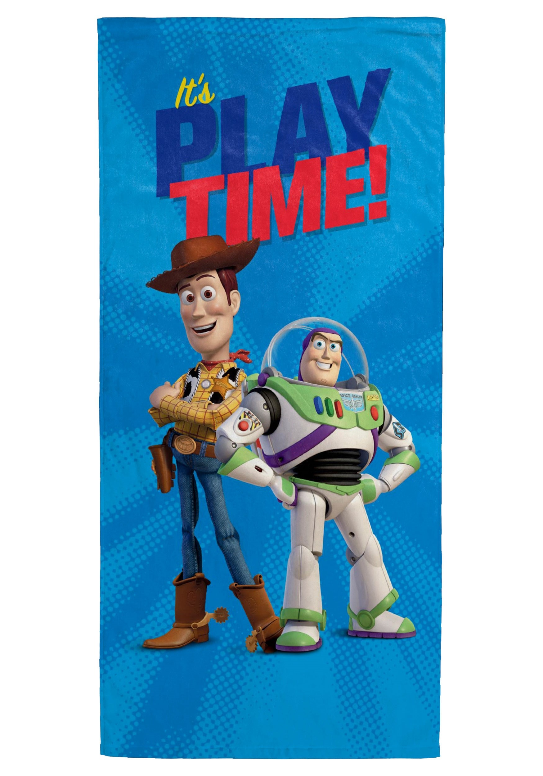 It's Playtime Toy Story Beach Towel