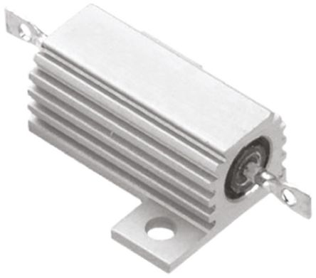 TE Connectivity THS25 Series Aluminium Housed Solder Lug Wire Wound Panel Mount Resistor, 330Ω ±5% 25W