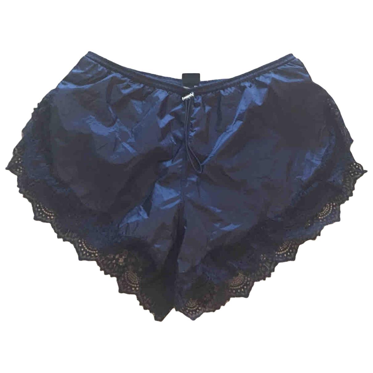 Pinko \N Shorts in  Schwarz Viskose