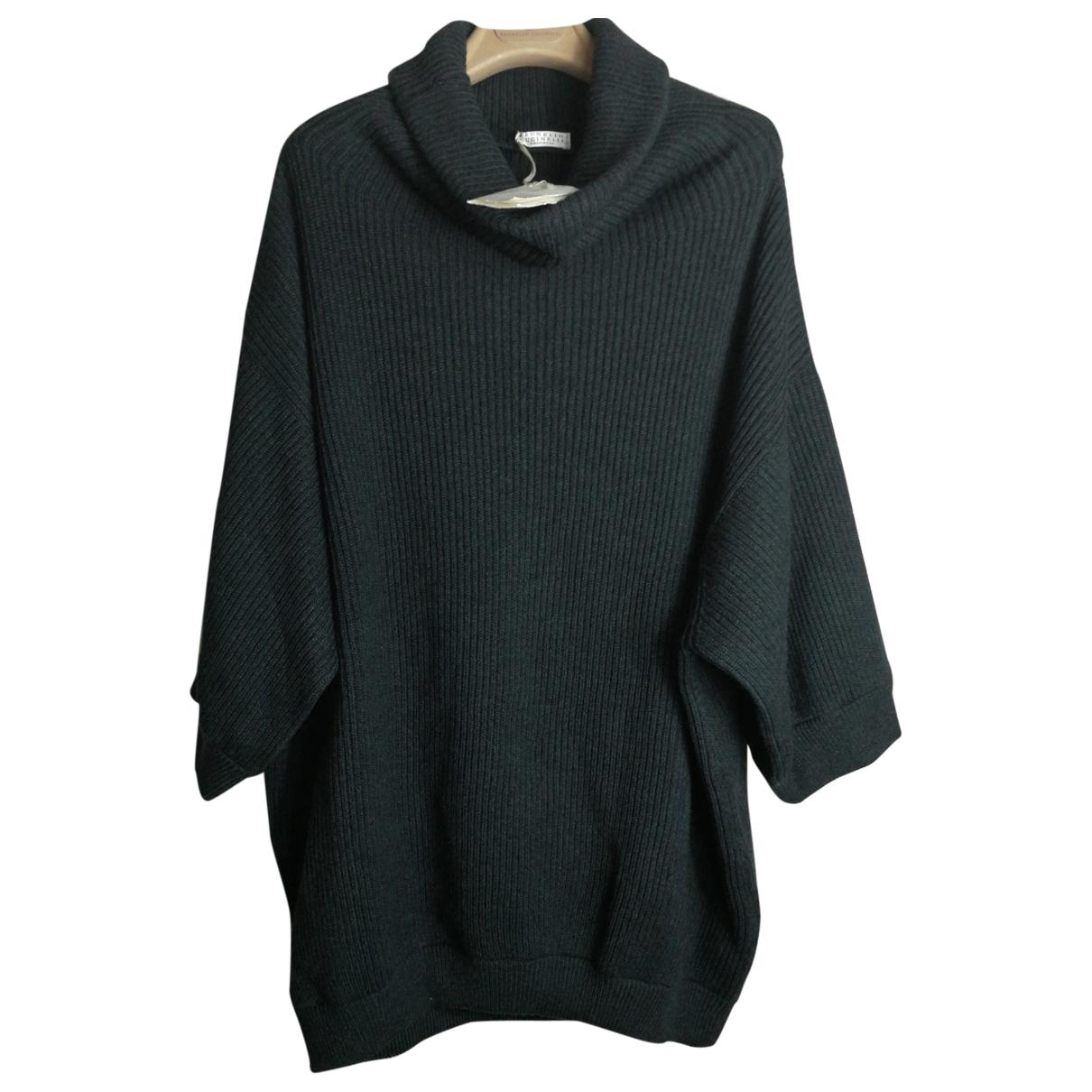 Brunello Cucinelli N Anthracite Cashmere Knitwear for Women L International