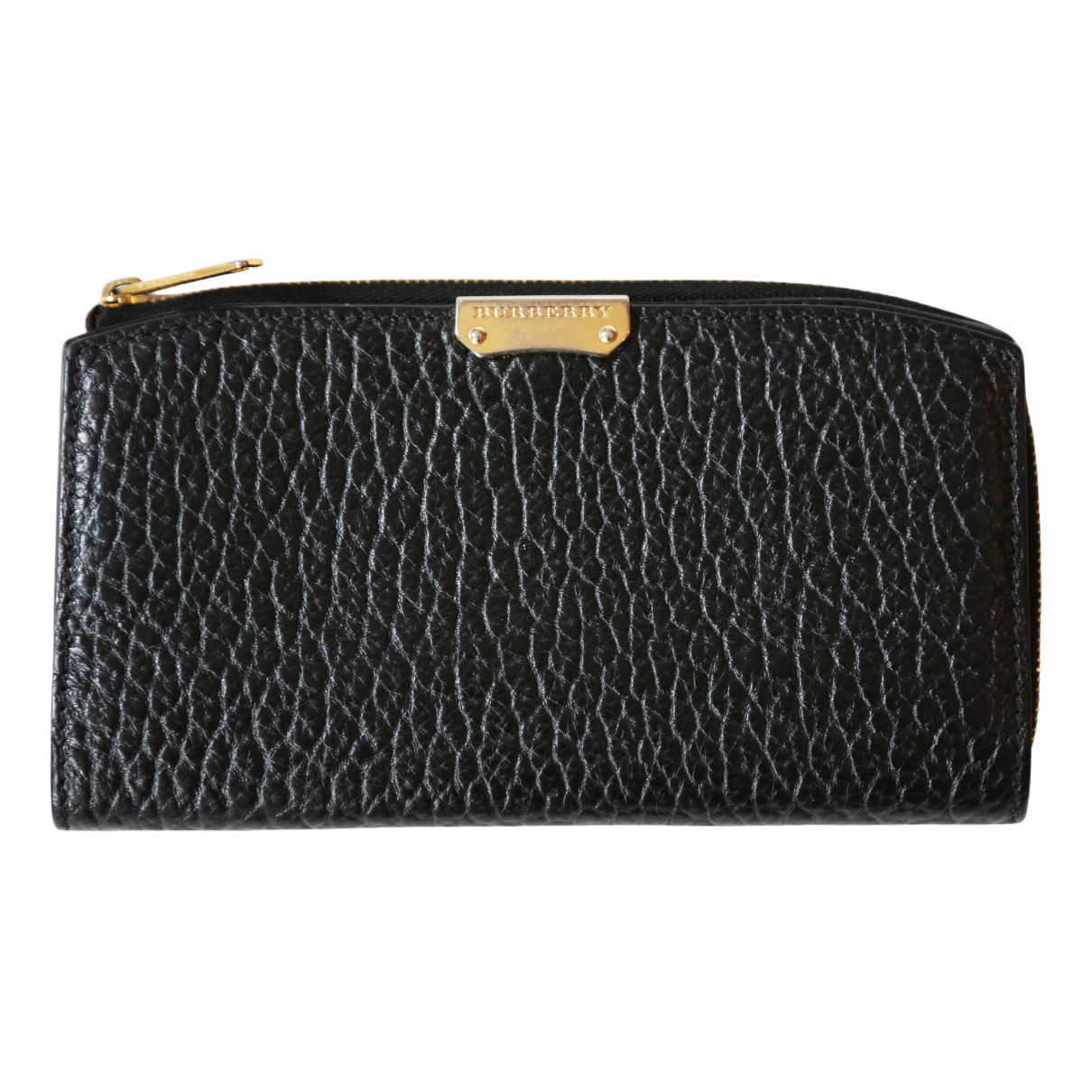 Burberry N Black Leather wallet for Women N