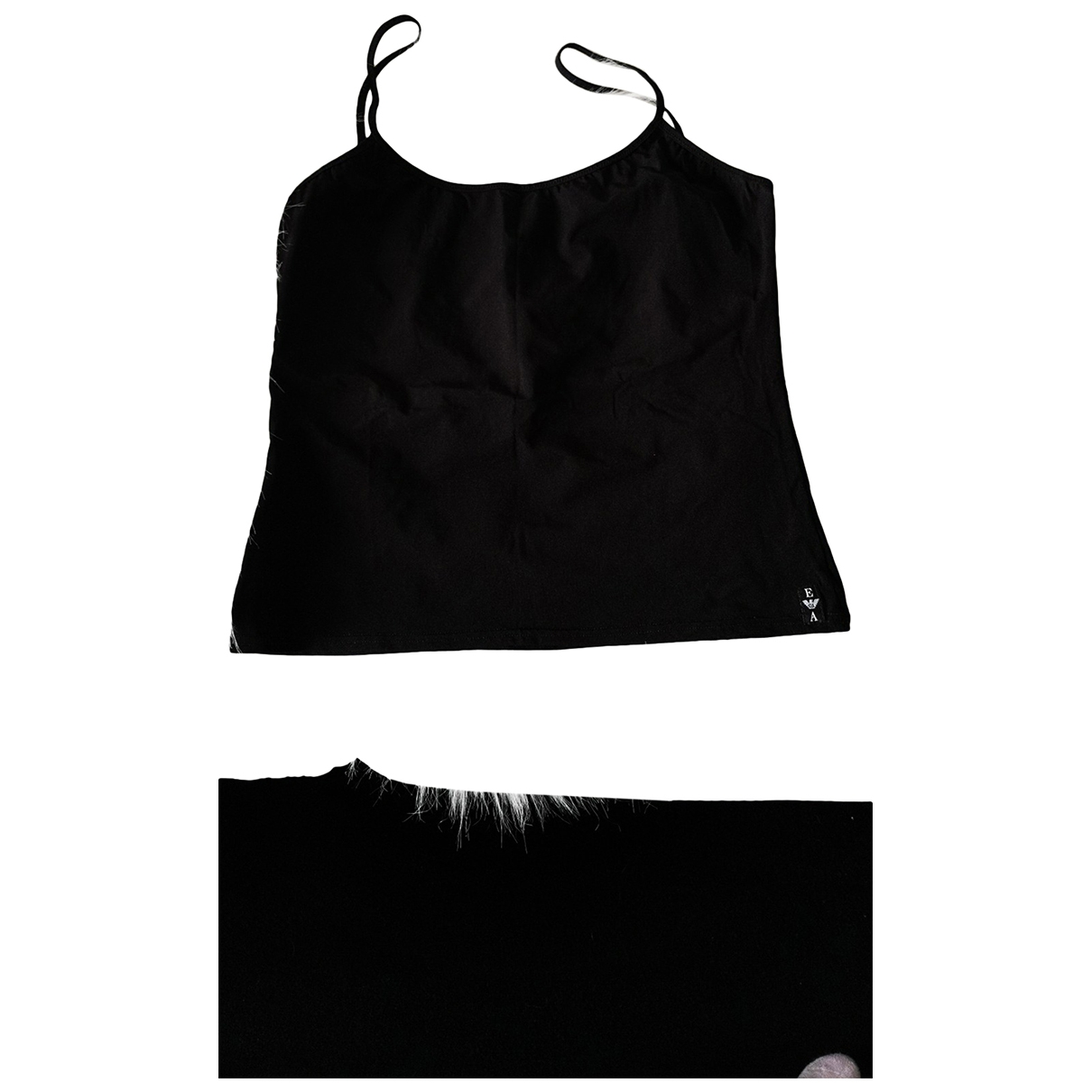 Emporio Armani - Top   pour femme - noir