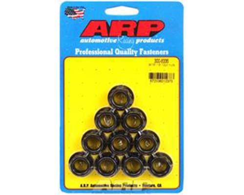 ARP 9/16in -18 12pt Nut Kit (Pack of 10)