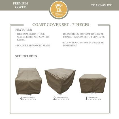 COAST-07cWC Protective Cover Set  for COAST-07c in