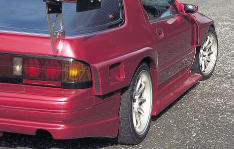 R Magic RMG40111310001 Rear Bumper 01 Mazda RX-7 FC3S 86-92